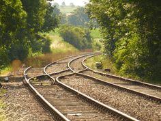 #bills of exchange #dutch train #gravel #netherlands #rails #railway #railway line #sleepers #somewhere #station #track #tracks #train #train track #trains #transport