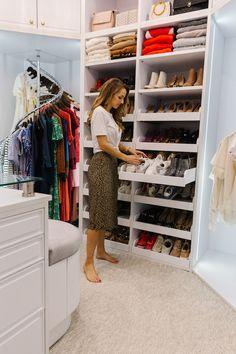 Shoe Shelf In Closet, Closet Drawers, Shoe Storage Walk In Closet, Pull Out Shelves, Drawer Shelves, Shoe Drawer, Shoe Storage Pull Out Drawers, Front Closet, Shoe Wall