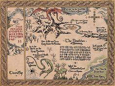 The Map of Middle Earth from The Lord of Rings and The Hobbit. Legolas, Gandalf, Hobbit Art, O Hobbit, The Hobbit Map, Lord Of The Rings Tattoo, Wall Prints, Poster Prints, Middle Earth Map