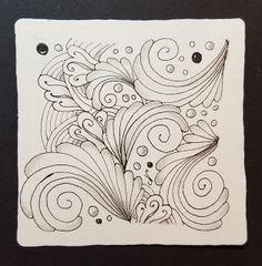 Dragonfly-Artz: DC #310 - UMT Frunky, Tangle Mosaic