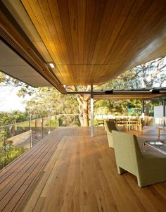 Angophora House by Richard Cole Architecture, in Waverton, lower North Shore of Sydney, Australia.