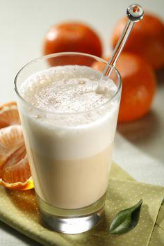Sucos e Vitaminas feitos com #Iogurte TopTherm deixam a sua #ReeducaçãoAlimentar muito + saudável - experimente #VitaminadeTangerina com #Iogurte ainda hoje no Programa Mulheres