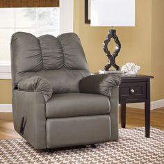 Signature Designs by Ashley 'Darcy' Grey Cobblestone Rocker Recliner