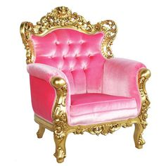 Umm... it sure is pink.     (Belle de Fleur Chair Pink as featured on Fab.)