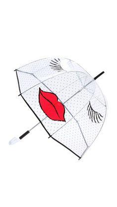 Felix Rey Kissy Face Umbrella (& or Singing in the Rain) =D Bubble Umbrella, Under My Umbrella, Cute Umbrellas, Umbrellas Parasols, Kissy Face, Zeina, Rain Gear, Singing In The Rain, Sweet Style