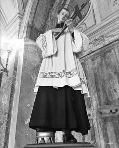 Rome J-6  Pèlerinage #SumPont2015  Chambre de saint Louis de Gonzague au Collège romain  #Populus #Summorum #Pontificum #SummorumPontificum #pellegrinaggio #Roma #Паломничество в #Рим.