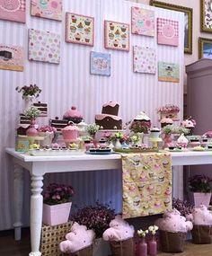 decoração festa cupcake - Pesquisa Google