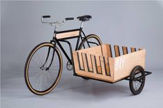 Side Car Bicycle to Carry Surfboards – Fubiz Media