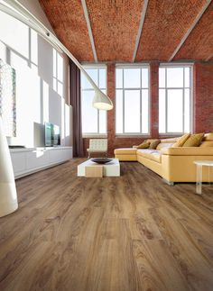 coretec flooring installation-living room-eco-friendly floor-floating floor system-wood-look plank Vinyl Flooring Kitchen, Luxury Vinyl Flooring, Vinyl Plank Flooring, Interior Lighting, Luxury Interior, Coretec Flooring, Floating Floor, New Homes, Flooring Ideas