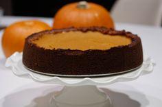 Flour-less Pecan Crust Sunshine Pumpkin Pie | Meal and a Spiel