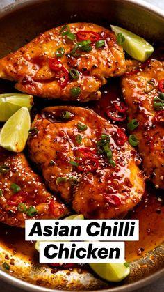 Health Dinner, Easy Chicken Recipes, Healthy Crockpot Chicken Recipes, Health Chicken Recipes, Healthy Teriyaki Chicken, Pineapple Chicken Recipes, Hawaiian Chicken, Mexican Food Recipes, Recipes Dinner