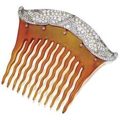 Belle Epoque hair comb