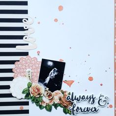 Kaisercraft Always & Forever, Amanda Baldwin Love Tag, Wooden Shapes, Mermaid Tails, Always And Forever, Amanda, Playing Cards, Romantic, Floral, Scrapbooking Ideas