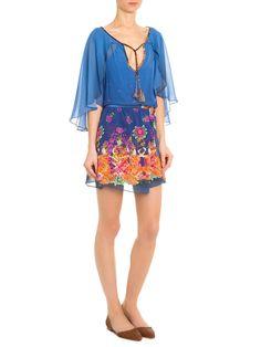 Vestido Suranganas - Adriana Barra - Azul  - Shop2gether