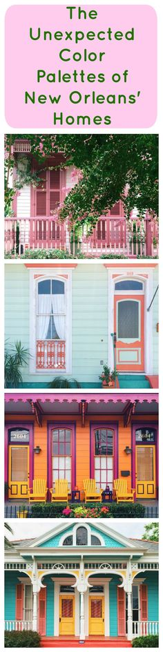 New orleans preservation hall color palette inspiration New orleans paint colors