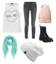 """""""Untitled #17"""" by zain-mjalli on Polyvore featuring J Brand, Caslon, Dr. Martens, MICHAEL Michael Kors and Ally Fashion"""