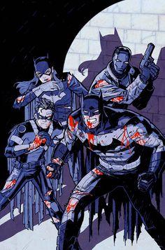 """da-watchtower: """" Batman Eternal Vol.1 #50 (Cover art by Cliff Chiang) """""""