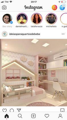 Das Haus am Bett - - Raumteiler Wohnzimmer - DIY Wohnzimmer Diy Bedroom Decor For Teens, Kids Bedroom Designs, Kids Room Design, Baby Room Decor, Toddler Rooms, Baby Bedroom, Ikea Girls Bedroom, Awesome Bedrooms, Little Girl Rooms