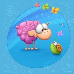 Meet The Little ones - Sheep by Tooshtoosh.deviantart.com on @deviantART