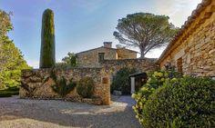 #Hotel Le Mas des Herbes Blanches 5 étoiles, Relais & Châteaux, Lubéron - Provence #France (Maranatha Hotels)