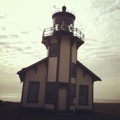 Lighthouse, Mendocino