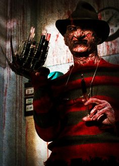 He is coming for you tonight! A Nightmare on Elm Street Dream Warriors Slasher Movies, Horror Movie Characters, Jason Voorhees, Horror Icons, Horror Films, Michael Myers, Freddy Krueger, Freddy Horror, Freddy's Nightmares