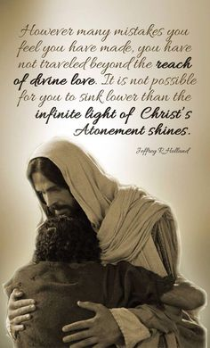 The infinite light of Christ's Atonement Lds Quotes, Uplifting Quotes, Religious Quotes, Great Quotes, Lds Memes, Wisdom Quotes, Inspiring Quotes, Spiritual Thoughts, Spiritual Quotes