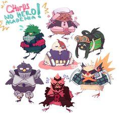 Characters: Midoriya Izuku, Tenya Iida, Uraraka Ochako, Todoroki Shouto, Kirishima Eijirou, Tsuyu Asui, Katsuki Bakugou