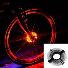 Leadbike 2016 New Bicycle Cycling Hubs Light Bike Front/Tail Light Led Spoke Wheel Warning Light Waterproof Bike Accessories //Price: $12.96 & FREE Shipping //   #hashtag4    #athleticsdepot