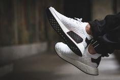 adidas NMD_R2 Primeknit 'White, Black & Red' - EU Kicks: Sneaker Magazine