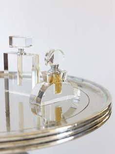 Jewelry for your Vanity Perfume Tray, Perfume Scents, Fragrances, Perfume Bottles, Beautiful Perfume, White Shop, Vanities, Playground, Eye Candy