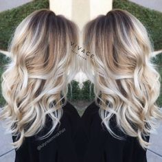 blonde balayage highlights by More