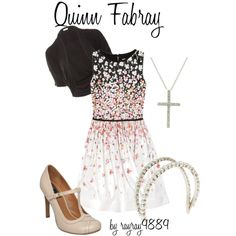 Quinn Fabray - in season 4, she's becomes my style icon.