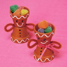 Gingerbread Candy Cups......Awww.....  Too Cute.....!!!