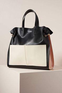 Freya Tote Bag by Urban Originals in Black Size: All, Bags at Anthropologie Popular Purses, Popular Handbags, Coach Handbags Outlet, Hobo Handbags, Leather Industry, Beautiful Handbags, Best Bags, Small Shoulder Bag, Womens Purses