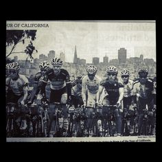 2012 Tour of California passing through SF. Photo Source: San Francisco Chronicle - @calster1- #webstagram