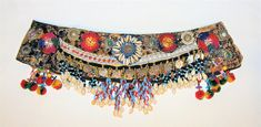 TB53 Tribal belt Tribal fusion ATS gypsy belly dance belt