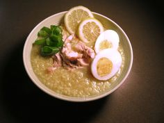 Chicken Lugaw  Filipino Comfort food