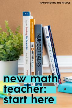 If you are new to teaching math, then this post is for you. We share our best tips for having students take ownership in their learning + a freebie. | maneuveringthemiddle.com First Year Teaching, Teaching Tips, Teaching Math, Classroom Activities, Classroom Organization, Math Teacher, Teacher Gifts, Mathematical Mindset, Number Sense
