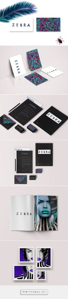 Zebra Creative Hairstylist Branding by Flavia Isk | Fivestar Branding Agency – Design and Branding Agency & Curated Inspiration Gallery