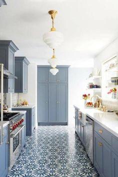 Remarkable Kitchen Lighting Ideas Black Refrigerator With Alhambra 8 Modern Deco Kitchen Reveal Future Home Ideas Pinterest