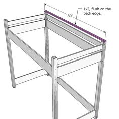 """Obtain excellent ideas on """"murphy bed plans queen"""". They are readily available for you on our web site. Loft Bed Desk, Build A Loft Bed, Bunk Bed Ladder, Loft Bed Plans, Loft Bed Frame, Murphy Bed Plans, Bunk Beds, Bookcase Plans, Small Bookcase"""