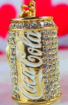 Blinged out Coca Cola