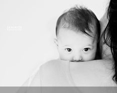 3 Month Baby Picture Ideas | over the shoulder pic. by ebony
