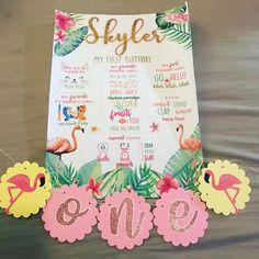 Baby Crafts, First Birthdays, Party Themes, Happy Birthday, Apple, Check, Instagram, Decor, Happy Brithday