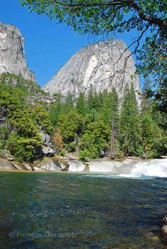 Emerald Pool at Vernal Fall (Yosemite National Park, California; USA)