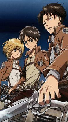 Shingeki-no-Kyojin.Eren-Jaeger-iPhone-5.Armin-Arlert.Levi-Rivaille.640x1136.jpg (640×1136)