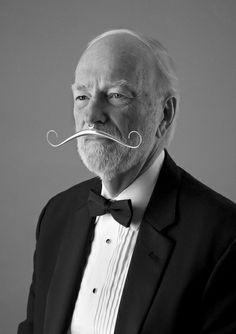 Elegant Gentleman's Prosthetic Moustache Roxy Lentz