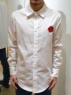 【merph - メルフ】cutter-shirt(カッターシャツ/ホワイト)