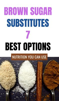 Brown sugar substitutes are important when you're out of brown sugar and for people on low carb diets. Sugar Alternatives, Healthy Alternatives, Brown Sugar Benefits, Food Tips, Food Hacks, Substitute For Brown Sugar, Sugar Substitutes For Baking, Brown Sugar Replacement, Keto Recipes